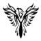 Eagle Tribal Stencil