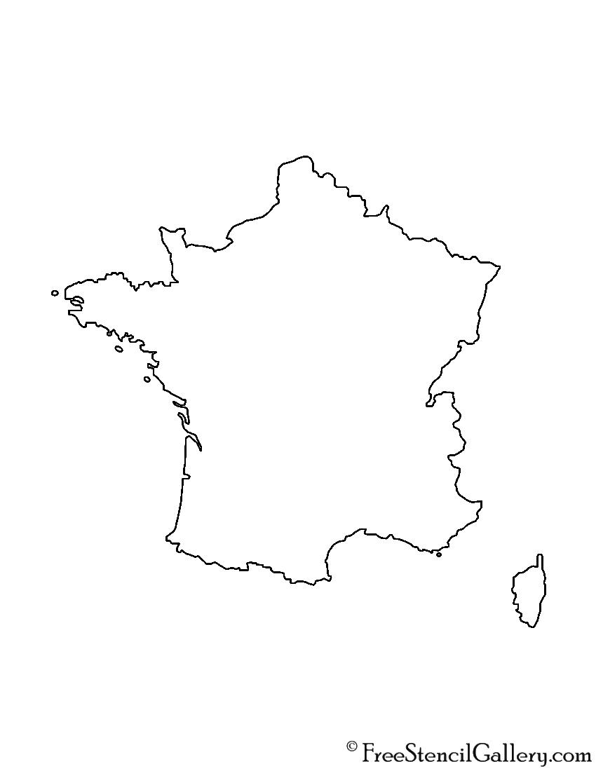 France Stencil