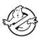 Ghostbusters Logo Stencil