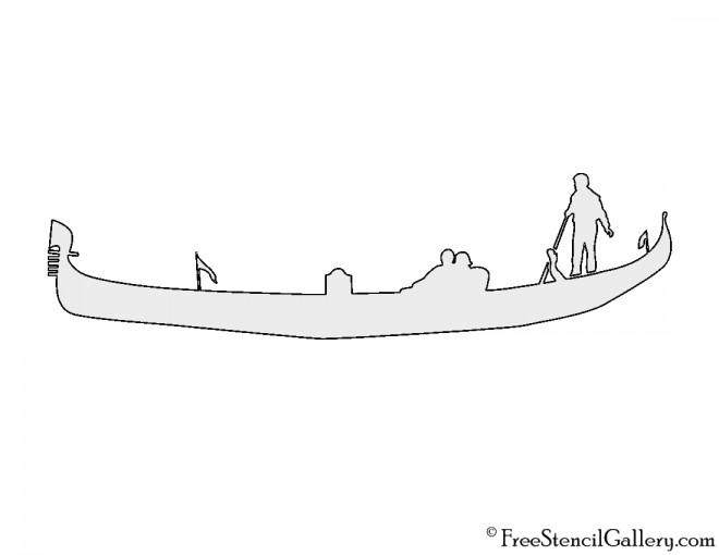 Gondola Stencil