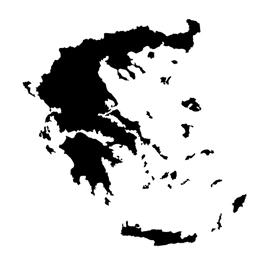 Greece Stencil