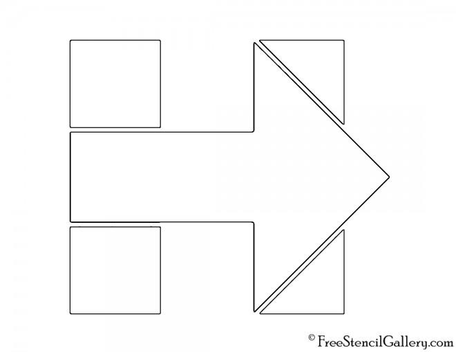 Hillary Clinton Campaign Logo Stencil