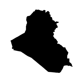 Iraq Stencil