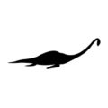 Loch Ness Monster Stencil