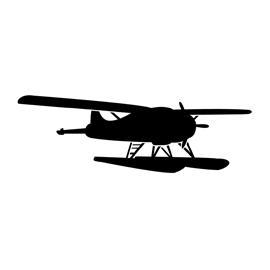 Seaplane Stencil