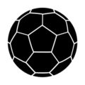Soccer Ball 02 Stencil