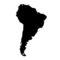 South America Stencil