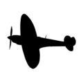 Supermarine Spitfire Stencil