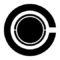 Cyborg Symbol Stencil