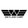 Weyland Corporation Logo Stencil