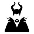 Maleficent Stencil