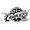 NBA Cleveland Cavaliers Logo Stencil