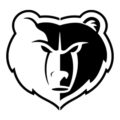 NBA Memphis Grizzlies Logo Stencil