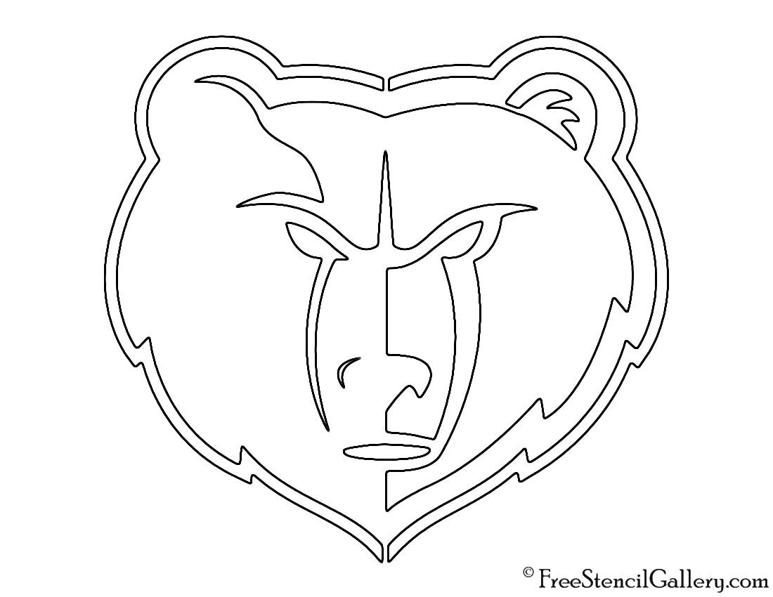 memphis grizzlies coloring pages - photo#15