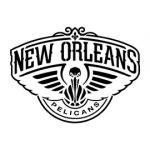 NBA New Orlean Pelicans Logo Stencil