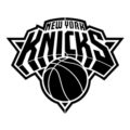 NBA New York Knicks Logo Stencil