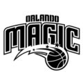 NBA Orlando Magic Logo Stencil