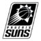 NBA Phoenix Suns Logo Stencil