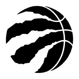NBA Toronto Raptors Logo Stencil