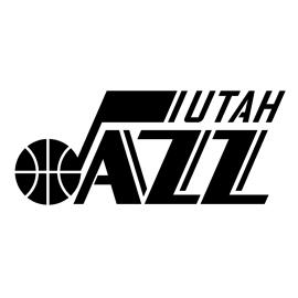 NBA Utah Jazz Logo Stencil