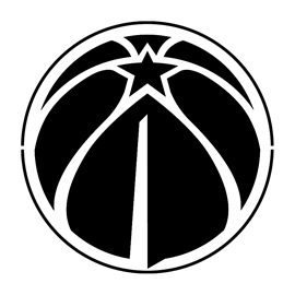 NBA Washington Wizards Logo Stencil