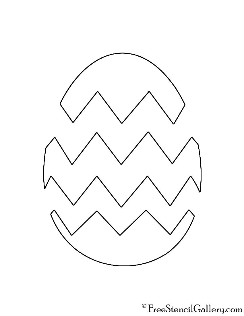 Easter Egg 02 Stencil Free Stencil Gallery