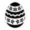 Easter Egg 06 Stencil