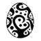 Easter Egg 07 Stencil