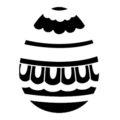Easter Egg 17 Stencil