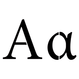 Greek Letter – Alpha