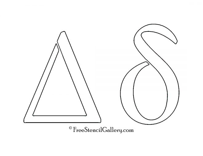 Greek Letter - Delta