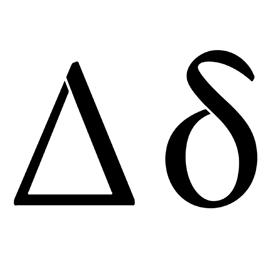 Greek Letter – Delta