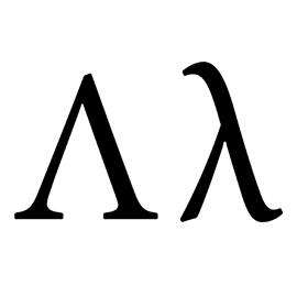 Greek Letter – Lambda