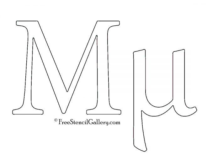 Greek Letter - Mu