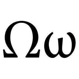 Greek Letter – Omega