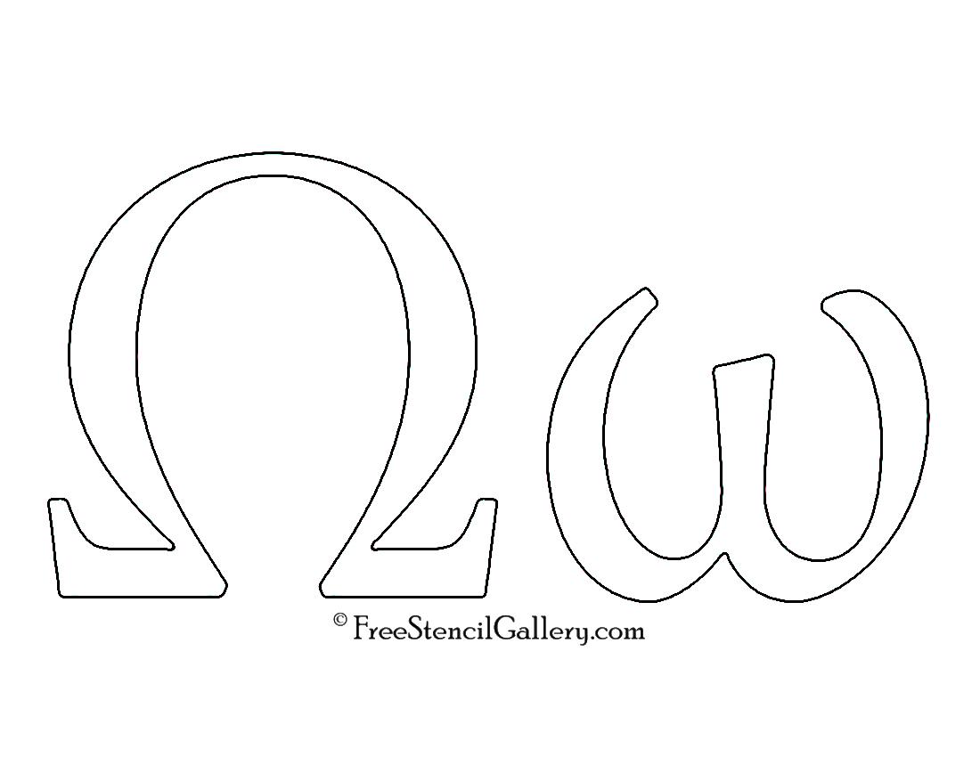 Greek Letter - Omega