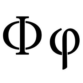 Greek Letter – Phi