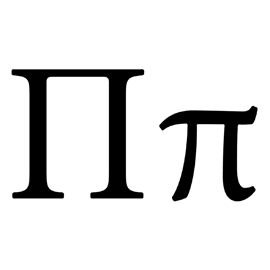 Greek Letter – Pi