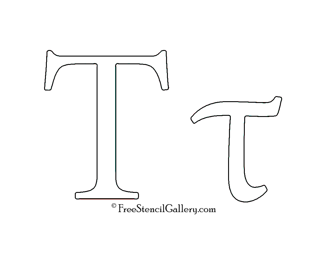 Greek Letter - Tau