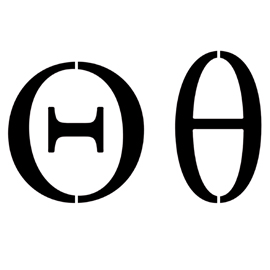 Greek Letter – Theta