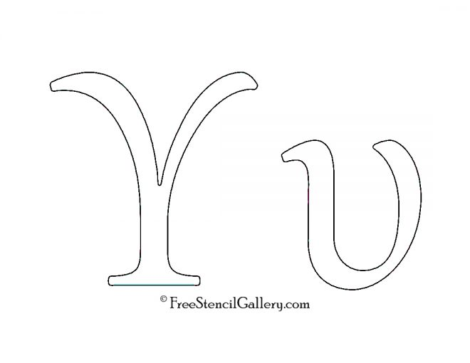 Greek Letter - Upsilon