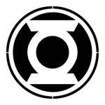 Green Lantern Corps Symbol Stencil