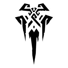 League of Legends – Freljord Crest Stencil