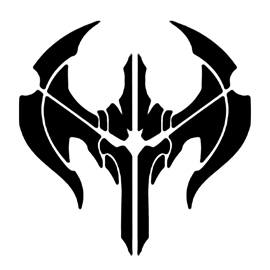 League of Legends – Noxus Crest Stencil