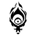League of Legends - Shadow Isles Crest Stencil