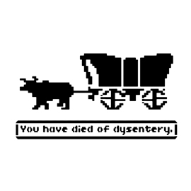 Oregon Trail Stencil