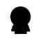 South Park - Kenny Silhouette Stencil