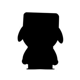 South Park – Kyle Silhouette Stencil
