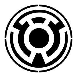 Yellow Lantern Corps Symbol Stencil