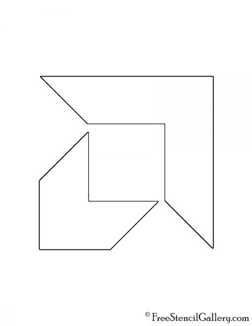 AMD Logo Stencil